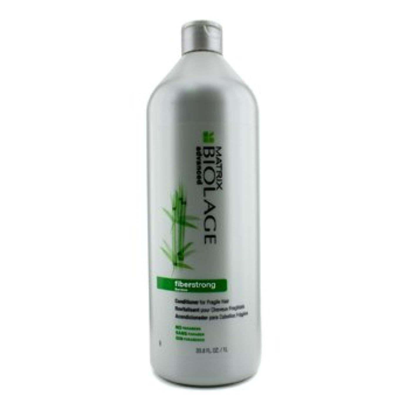 重くする不屈木材[Matrix] Biolage Advanced FiberStrong Conditioner (For Fragile Hair) 1000ml/33.8oz