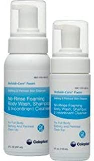 Rinse-Free Shampoo and Body Wash Bedside-Care Foam 8.1 oz Pump Bottle Scented(Each/1)