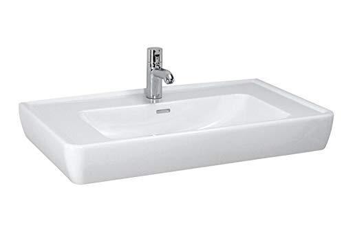 Laufen PRO A Waschtisch, 1 Hahnloch, mit Überlauf, 850x480, weiß, Farbe: Bahamabeige
