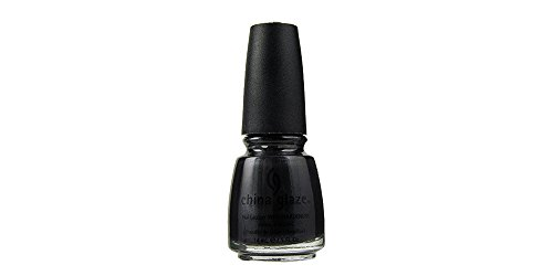 China Glaze Negro Diamond Nail Lacquer polaco con endurecedores 14ml