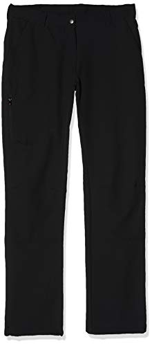 Maier Sports Damen Helga Softshellhose Outdoor Elastischhose, Schwarz (Black), 23