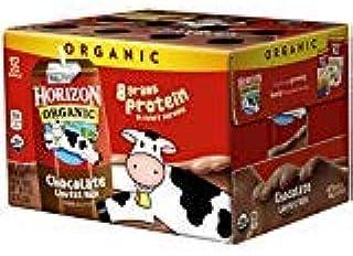 Horizon Organic UHT Chocolate Milk Boxes, 1% Single Serve, 8 Oz, 12 Count (3 Cases(Pack of 12))