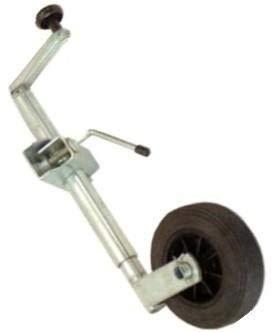 Habillauto Habill-Auto Rueda Jockey Remolque 35 mm + Abrazadera con bisagra, diámetro 35 mm, 160 x 40 mm