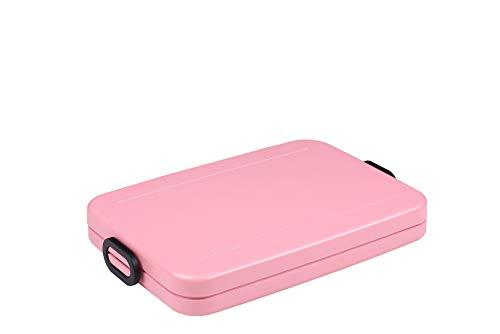 Rosti Mepal 107635076700 Boîte Déjeuner Take a Break Plate, ABS, Nordic Pink, 800 ML
