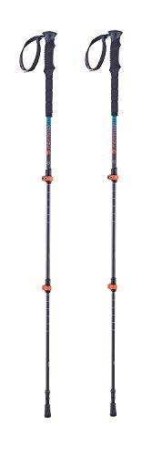 Ferrino Nuptse bâton Trekking, Noir, 60/135 cm
