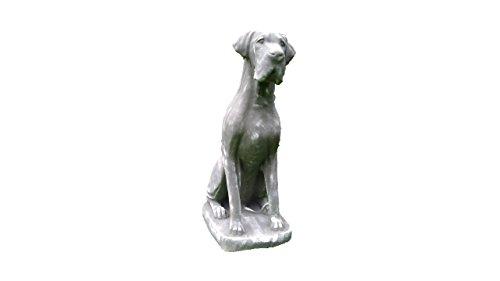 Steinfigur Dogge XXL, Tierfigur aus Steinguss
