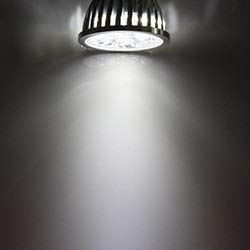 GHC LED Bombillas Luz LED Spot GU10 5W 12v 24v Súper aluminio Shell bombilla de la lámpara de baja tensión Gu 10 12 24 V voltios ahorro de energía (Color : Blanco, Number of LED Chip : 24V)