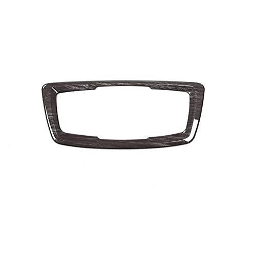 ZHANGJIN Ajuste de Grano de Madera Negro para BMW X1 F48 2016-2019 Cubierta de botón de Interruptor de encabezado ABS Accesorios para automóviles para BMW X2 F47 2018 (Color Name : Black Wood Grain)