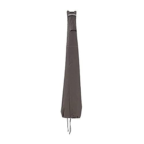 Paraguas al aire libre cubierta impermeable parasol cubiertas Oxford tejido a prueba de viento protección al aire libre protectora a prueba de arrancar la cubierta de reemplazo de parasol para paragua