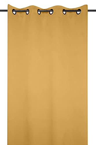 Lovely Casa Notte - Tenda oscurante, 140 x 280 cm, colore: Giallo