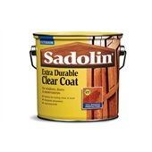 Sadolin 2.5 Litre Extra Durable Clear Coat Gloss