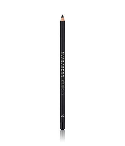 Evagarden Eye Make Up Pencil - Augenmakeupstift Nummer 1, black, 1er Pack (1 x 1 Stück)