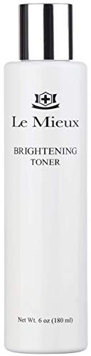 Le Mieux Brightening Toner - Hyaluronic Acid & Witch Hazel Toner for Face, Facial Solution for Glowing Skin, Help Minimize Dark Spots & Uneven Tone, No Parabens or Sulfates (6 oz / 180 ml)