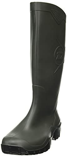 Dunlop Protective Footwear (DUO18) Dunlop Dane, Botas de Goma de Trabajo Unisex Adulto, Green, 38 EU