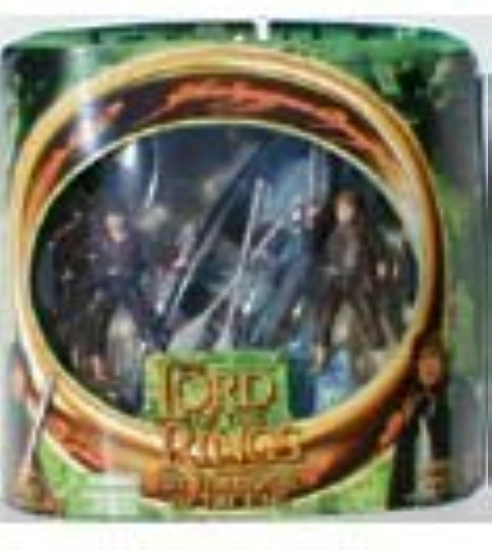 Ahorre hasta un 70% de descuento. Lord of the Rings Rings Rings The Fellowship of the Ring Frodo & Samwise Gamgee with Elven Boat by Juguetebiz  hasta 60% de descuento