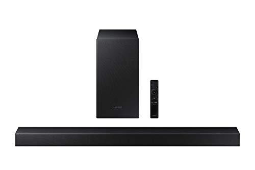 SAMSUNG HW-T450 200W 2.1-Channel Soundbar System with Subwoofer, Bluetooth (Renewed)