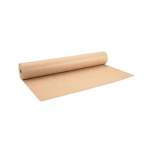 10m  x 500mm STRONG BROWN KRAFT WRAPPING PAPER roll Thick quality packaging