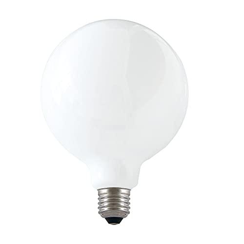 Bombilla de filamento LED opal, Globe G125, 18W / 2500lm, base E27, 4000K