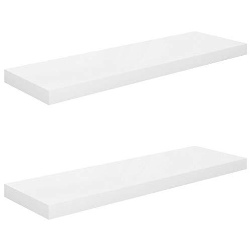Estanterías De Pared Blancas estanterías de pared  Marca vidaXL