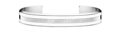 Daniel Wellington Damen-Armreif Edelstahl S Silber/Weiß/S 32012234
