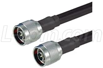 L-com CA-NMNMH002 N-Male to N-Male 400-series ultra flex coax cable 2ft
