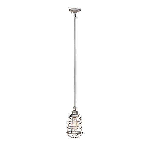 Design House 519645 Ajax 1-Light Mini Hanger, gegalvaniseerde afwerking door Design House