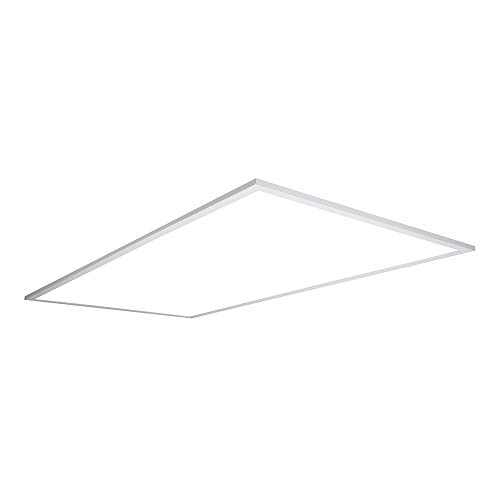 Metalux RT24FP 2 x 4 ft. White Integrated LED 4700 Lumens, 4000K Cool Flat Panel Troffer Light Fixture, 2' x 4'