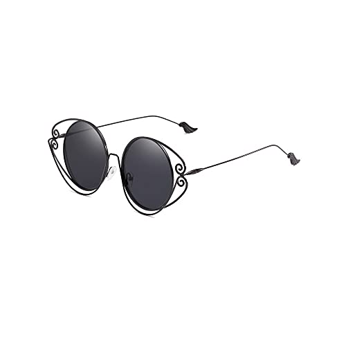 Heigmz Nvtyj - Gafas de sol polarizadas para mujer, hombre, clásico, polarizadas (color: negro)