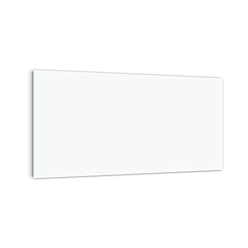 DekoGlas Küchenrückwand \'Weiß Einfarbig\' in div. Größen, Glas-Rückwand, Wandpaneele, Spritzschutz & Fliesenspiegel