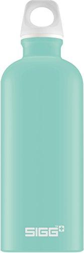 Gourde SIGG Lucid Glacier Touch (0.6 L), gourde étanche et sans produits toxiques, ni BPA, bouteille aluminium robuste et très légère, facile à transporter