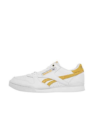 Reebok Classic Phase 1 PRO MU buty sportowe męskie białe/żółte niskie tenisówki, - biały - 45 EU