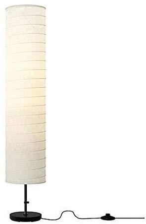 WLP-WF Lámpara de Pie/Lámpara Decorativa/Lámpara de Papel de Arroz - Lámpara de Pie de Lectura para Sala de Estar Del Dormitorio