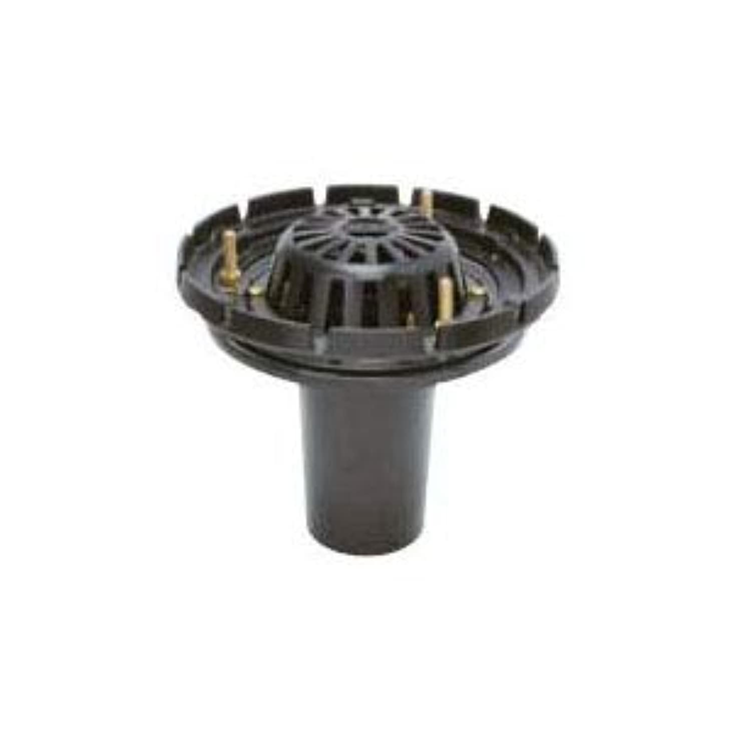 タクトラインレールカネソウ 鋳鉄製ルーフドレイン たて引き用 一般型 外断熱用 バルコニー 庇?屋上用(呼称125) ESRW-3-125