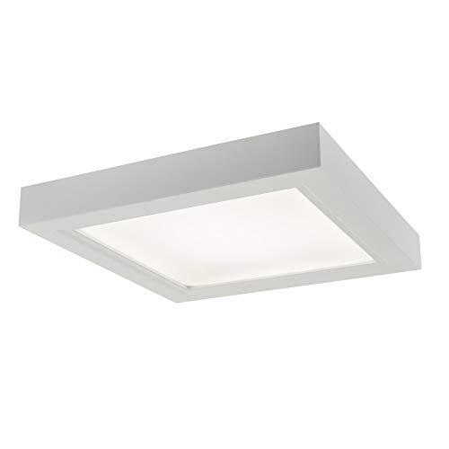 BROAN NuTone AER110LTK Roomside Ventilation LED Light with Trim Kit, Energy Star Certified, 110 CFM, 1.5 Sones Bath Fan, White, Brushed Bronze, Brushed Nickel