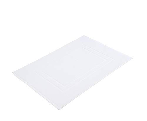 Gözze Badvorleger 2er-Set, 100% Baumwolle, 50 x 70 cm, Sylt, Weiß, 7881-00-A7