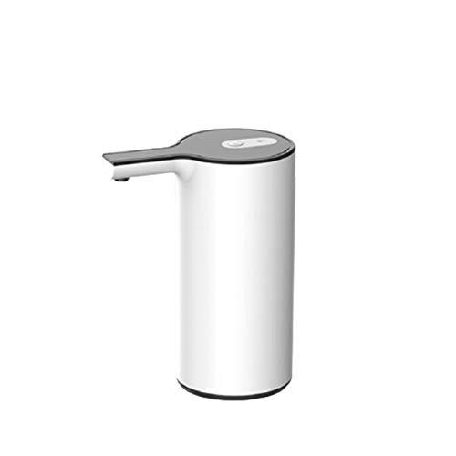 Elektrische Wasserflaschenpumpe, Automatische E-Wasser-Zufuhr-Pumpe USB-Lade Home Office Außen Smart, Wasserflasche Pump (Color : White)