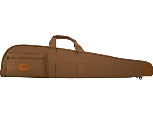 MidwayUSA Deluxe Cotton Canvas Shotgun Case 54' Dark Khaki