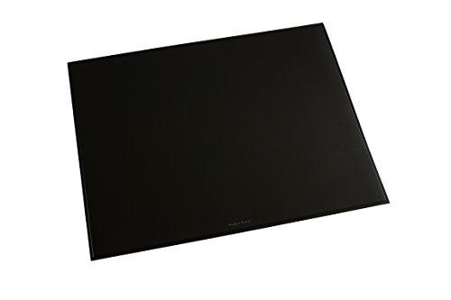 Läufer 40656 Durella Schreibtischunterlage, 52x65 cm, schwarz, rutschfeste Schreibunterlage für hohen Schreibkomfort