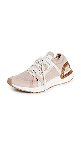 adidas by Stella McCartney Women's Asmc Ultraboost 20 Sneakers, Soft Powder/Gold Metallic/Copper Metallic, 7.5 Medium US
