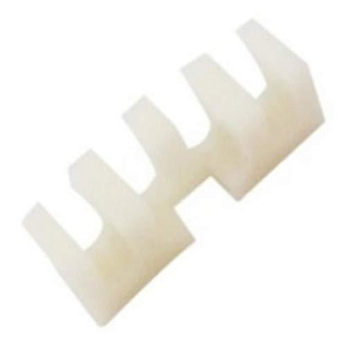 2 Stück Badmintonschläger Lastspreader Adapter Befestigung Besaitungsmaschine Werkzeug weiß