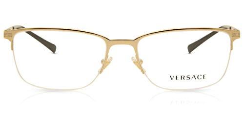 Versace 0VE1263 Monturas de gafas, Gold, 55 para Hombre