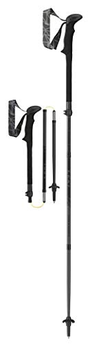 LEKI Micro Vario Carbon Black Series Trekking Poles