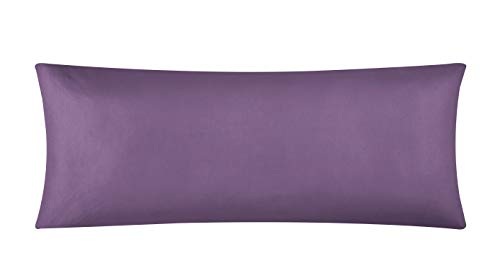 EVOLIVE Ultra Soft Microfiber Pillowcases (Dusty Lavender, Body Pillow Cover 21'x54')