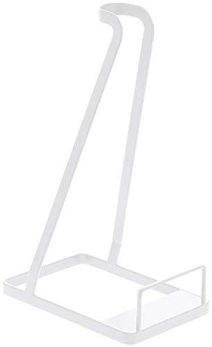 スティッククリーナースタンド tower TOWER 掃除機収納 掃除機スタンド YAMAZAKI ブラック ホワイト 3273 3274 山崎実業 おしゃれ 立て掛け 掃除機 完成品 (ホワイト)