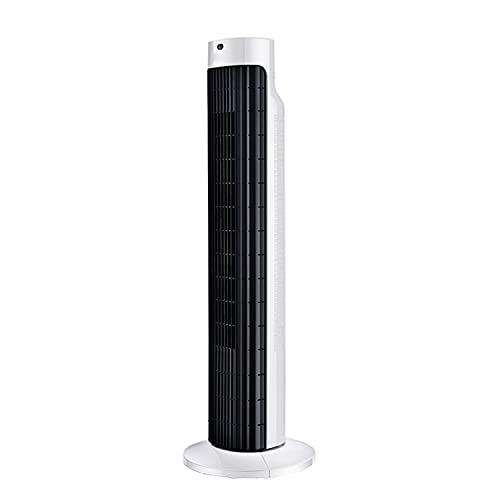 Ventilador Eléctrico De Tres Velocidades Con Velocidad Del Viento, Ventilador Sin Ventilador Para El Hogar, Sala De Estar, Ventilador De Torre Con Control Remoto Vertical, Cabezal De Agitación Silen