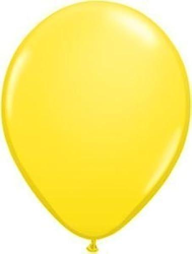 Qualatex 11 Inch Round Balloons, Gelb - by Qualatex