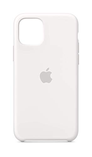 Apple Silikon Case (für iPhone 11 Pro) - Weiß