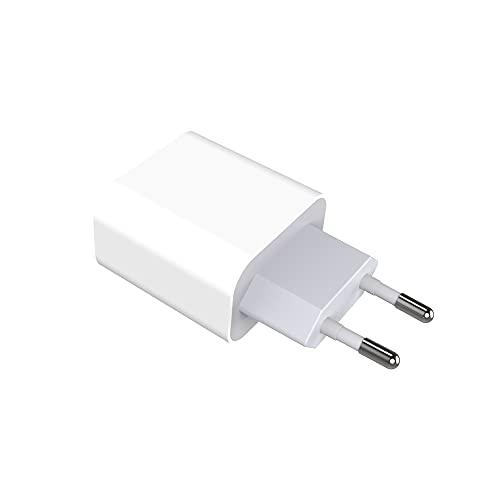 LOVONLIVE Cargador USB, 2 Puertos Cargador USB Enchufe de Fuente de alimentación Adaptador de Carga Adaptador de Corriente Enchufe de Red Enchufe Enchufe de Carga para teléfono Apple Samsung Android