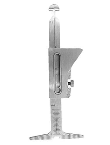Hola Lo Soldar Pulgada Medical Gage Prueba de Calibre Ulnar Soldador Inspección Root Gap Gauge Gauge Gadgets PRÁCTICOS para LA Vida