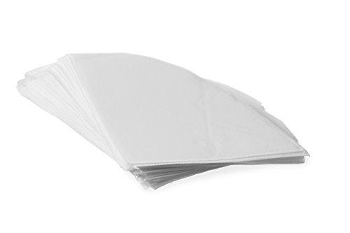 HENDI Fettfilter für Friteusen, Stückzahl: 50, Aus Viskose (syntetische Seide), 254x254mm